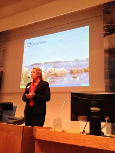 Infrastrukturminister Catharina Elmsäter-Svärd