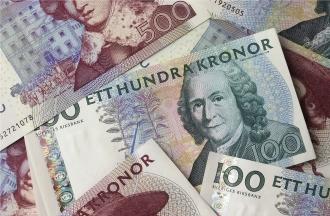 Pengar i hög
