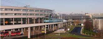 Om ca fem år kan kanske Roslagsbanans förgrening mot Arlanda börja byggas.