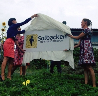 Michaela inviger Solbackens Montessoriskola 20130830